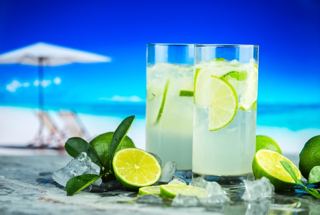 Naturally sweetened limeade
